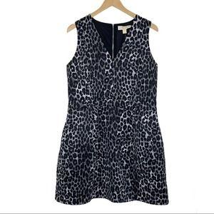 MICHAEL Kors Animal Print Dress Scuba Sleeveless